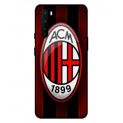 Durable AC Milan Cover For OnePlus Nord