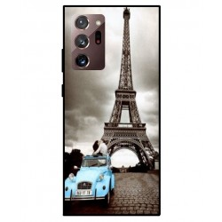 Durable Paris Eiffel Tower Cover For Samsung Galaxy Note 20
