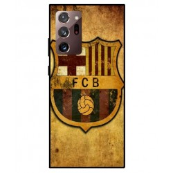 Durable FC Barcelona Cover For Samsung Galaxy Note 20