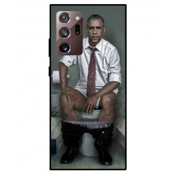Durable Obama On The Toilet Cover For Samsung Galaxy Note 20