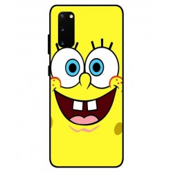 Durable SpongeBob Cover For Samsung Galaxy S20 FE