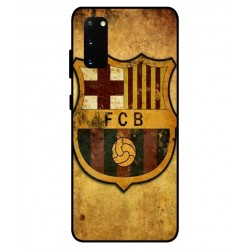 Durable FC Barcelona Cover For Samsung Galaxy S20 FE