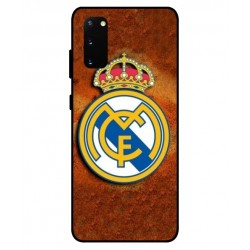 Durable Real Madrid Cover For Samsung Galaxy S20 FE