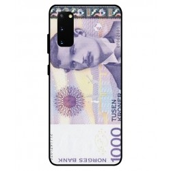 1000 Norwegian Kroner Note Cover For Samsung Galaxy S20 FE