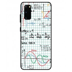 Durable Mathematics Cover For Samsung Galaxy S20 FE
