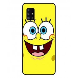Durable SpongeBob Cover For Samsung Galaxy A51 5G UW