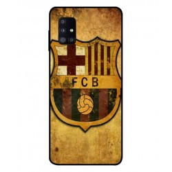 Durable FC Barcelona Cover For Samsung Galaxy M51