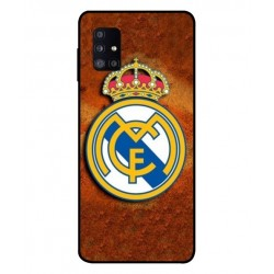 Durable Real Madrid Cover For Samsung Galaxy M51