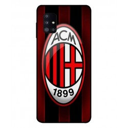 Durable AC Milan Cover For Samsung Galaxy M51