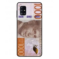 Durable 1000Kr Sweden Note Cover For Samsung Galaxy M51