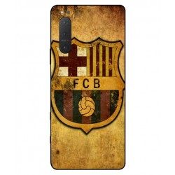 Durable FC Barcelona Cover For Sony Xperia 5 II