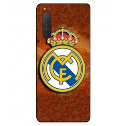 Durable Real Madrid Cover For Sony Xperia 5 II
