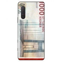 1000 Danish Kroner Note Cover For Sony Xperia 5 II