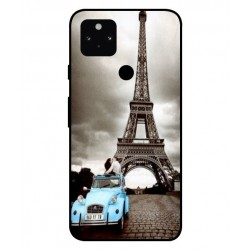 Durable Paris Eiffel Tower Cover For Google Pixel 5