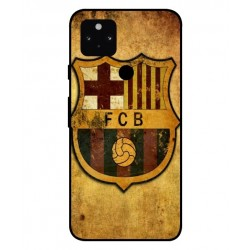 Durable FC Barcelona Cover For Google Pixel 5