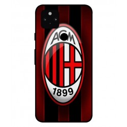 Durable AC Milan Cover For Google Pixel 5