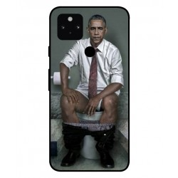 Durable Obama On The Toilet Cover For Google Pixel 5