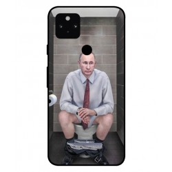 Durable Vladimir Putin On The Toilet Cover For Google Pixel 5