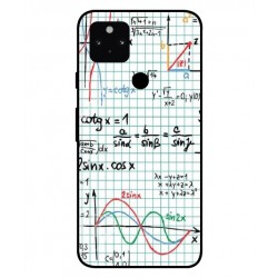Durable Mathematics Cover For Google Pixel 5