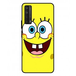 Durable SpongeBob Cover For Huawei P smart 2021