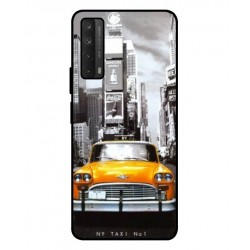 Durable New York Cover For Huawei P smart 2021