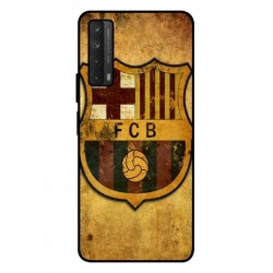 Durable FC Barcelona Cover For Huawei P smart 2021