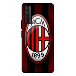 Durable AC Milan Cover For Huawei P smart 2021