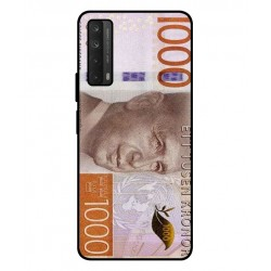 Durable 1000Kr Sweden Note Cover For Huawei P smart 2021