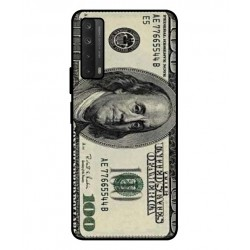 Durable 100 Dollar Note Cover For Huawei P smart 2021