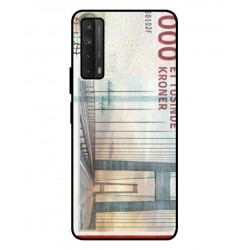 1000 Danish Kroner Note Cover For Huawei P smart 2021