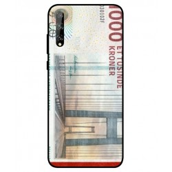 1000 Danish Kroner Note Cover For Huawei P Smart S