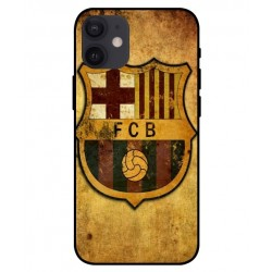 Durable FC Barcelona Cover For iPhone 12 mini