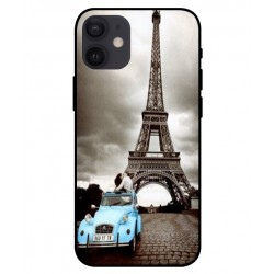 Durable Paris Eiffel Tower Cover For iPhone 12 mini