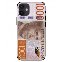 Durable 1000Kr Sweden Note Cover For iPhone 12 mini