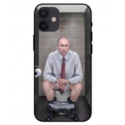 Durable Vladimir Putin On The Toilet Cover For iPhone 12 mini
