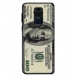 Durable 100 Dollar Note Cover For Xiaomi Redmi Note 9