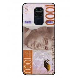 Durable 1000Kr Sweden Note Cover For Xiaomi Redmi Note 9