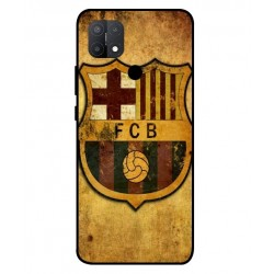 Durable FC Barcelona Cover For Oppo A15