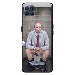 Durable Vladimir Putin On The Toilet Cover For Oppo A93