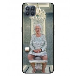 Durable Queen Elizabeth On The Toilet Cover For Oppo A93
