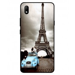 Durable Paris Eiffel Tower Cover For Wiko Y61