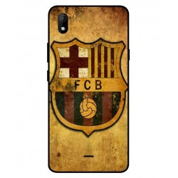 Durable FC Barcelona Cover For Wiko Y61