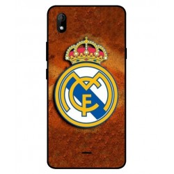Durable Real Madrid Cover For Wiko Y61