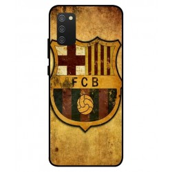 Durable FC Barcelona Cover For Samsung Galaxy A02s