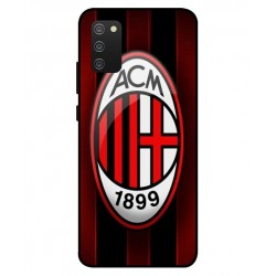 Durable AC Milan Cover For Samsung Galaxy A02s
