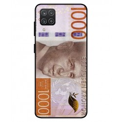Durable 1000Kr Sweden Note Cover For Samsung Galaxy A12