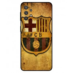 Durable FC Barcelona Cover For Samsung Galaxy A32 5G