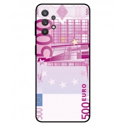 Durable 500 Euro Note Cover For Samsung Galaxy A32 5G