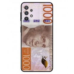 Durable 1000Kr Sweden Note Cover For Samsung Galaxy A32 5G