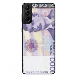 1000 Norwegian Kroner Note Cover For Samsung Galaxy S21
